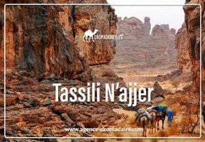 Tassili N'ajjer 1 Algerie Dromadaire voyage agence-dromadaire